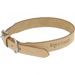 Collier pour chien Cuir Diego & Louna