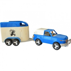 Coffret Papo 4x4 + van + figurines
