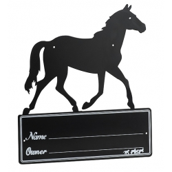 Plaque de box Silhouette
