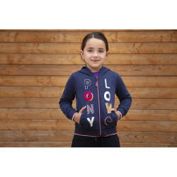 Sweat à capuche Equi-Kids Alizé