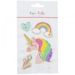 Sticker licorne relief