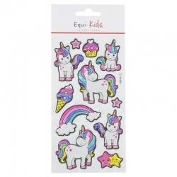 Stickers licorne star Equi-Kids