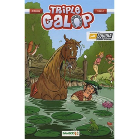 Tome 3 BD Triple Galop