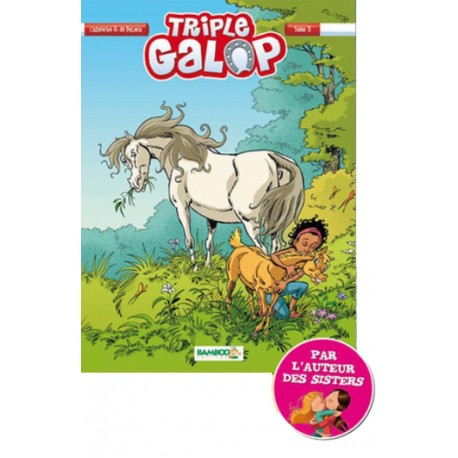 Tome 11 BD Triple Galop